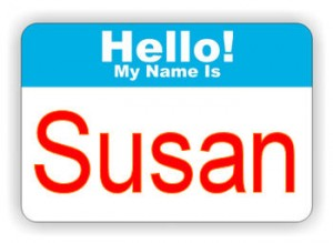 susan badge
