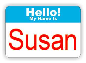 susan badge