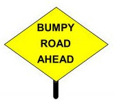 Bumpy Road Ahead Header