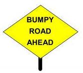Bumpy Road Ahead Header