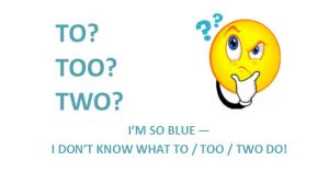 To too two header BLUE