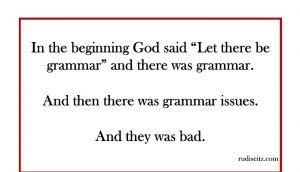 god grammar