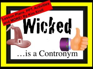 wicked contronym