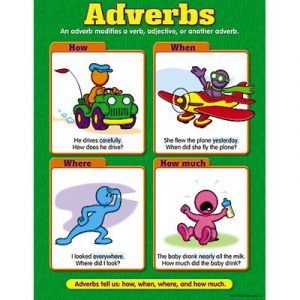 using adverbs