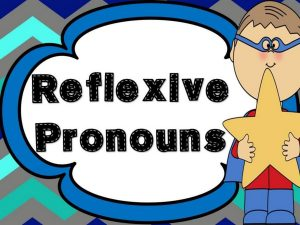 reflexive self pronouns American grammar