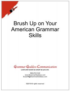 American Grammar Training
